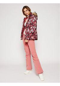 Różowe spodnie sportowe Roxy narciarskie