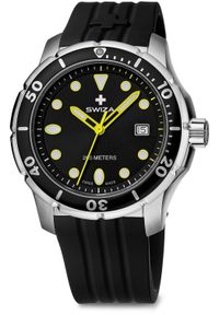 Zegarek Swiza Zegarek męski Tetis Gent SST czarny (WAT.0461.1004). Kolor: czarny