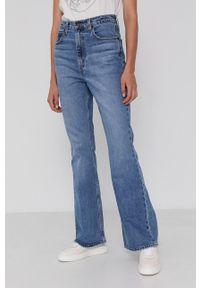 Levi's® - Levi's - Jeansy 70S High Flare. Okazja: na spotkanie biznesowe. Stan: podwyższony. Kolor: niebieski. Styl: biznesowy