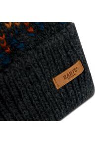 Barts - Czapka BARTS - Nordre Beanie 4907019 Dark Heather. Kolor: szary. Materiał: wełna, akryl, materiał