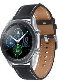 SAMSUNG - Smartwatch Samsung Galaxy Watch 3 Mystic Silver 45mm Czarny (SM-R840NZSAEUE). Rodzaj zegarka: smartwatch. Kolor: czarny