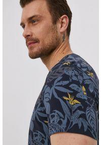 medicine - Medicine - T-shirt Summer Vibes. Kolor: niebieski. Materiał: dzianina