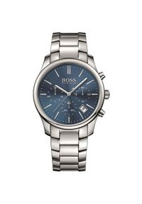 Czarny zegarek HUGO BOSS wakacyjny