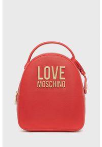 Love Moschino - Plecak. Kolor: czerwony