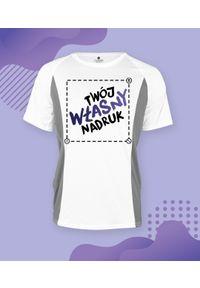 MegaKoszulki - Koszulka męska dwukolorowa z własnym nadrukiem. Wzór: nadruk