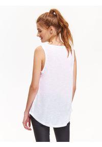 Biała bluzka TROLL na co dzień, na jesień #7