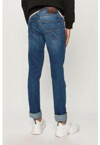 Trussardi Jeans - Jeansy. Okazja: na co dzień. Kolor: niebieski. Styl: casual