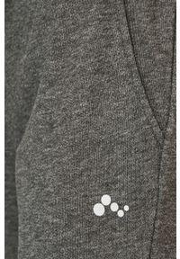 Only Play - Spodnie. Kolor: szary. Materiał: materiał, dzianina, poliester, bawełna. Wzór: gładki #2
