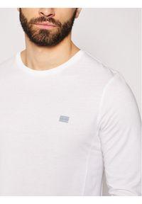 TOMMY HILFIGER - Tommy Hilfiger Longsleeve Modern Essentials Paneled Ls Tee MW0MW17297 Biały Regular Fit. Kolor: biały. Długość rękawa: długi rękaw