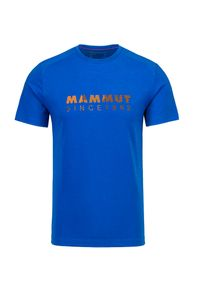 Mammut - T-shirt MAMMUT TROVAT. Materiał: tkanina. Wzór: napisy, nadruk. Sport: outdoor