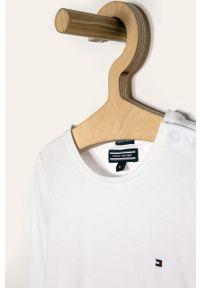 Biała bluzka z długim rękawem TOMMY HILFIGER