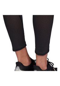 Adidas - Legginsy damskie adidas How We Do 7/8 FM7643. Materiał: materiał, elastan, tkanina, skóra, poliester. Sport: fitness