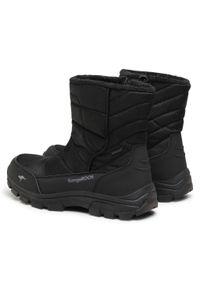 Czarne buty zimowe KangaRoos