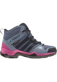 Adidas - adidas Terrex AX2R Mid Climaproof AC7976. Materiał: guma. Technologia: ClimaProof (Adidas). Sezon: zima. Model: Adidas Terrex