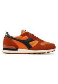 Diadora - Sneakersy DIADORA - Camaro 501.159886 01 C9173 Gold Flame/Desert. Okazja: na co dzień. Kolor: pomarańczowy. Materiał: skóra, materiał, zamsz. Szerokość cholewki: normalna. Styl: casual