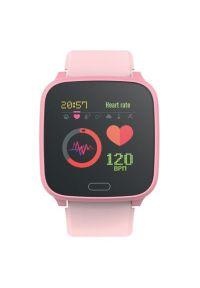 Różowy zegarek FOREVER młodzieżowy, smartwatch #5