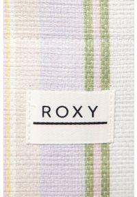 Wielokolorowa torba plażowa Roxy duża, na ramię
