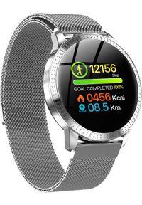 Smartwatch Smart And You CF18 Srebrny (CF18). Rodzaj zegarka: smartwatch. Kolor: srebrny