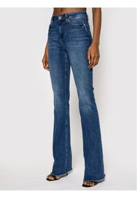 Niebieskie jeansy bootcut Liu Jo