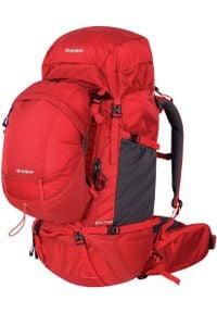 Husky plecak Limpet 60+10 czerwony. Kolor: czerwony