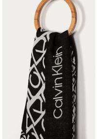Czarna chusta Calvin Klein
