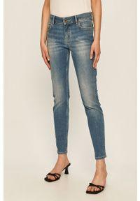 Niebieskie jeansy Marc O'Polo w kolorowe wzory