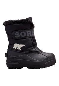 sorel - Sorel Buty Śniegowce Dziecięce Commander Black