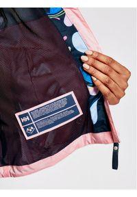 Kurtka przeciwdeszczowa Helly Hansen w kolorowe wzory