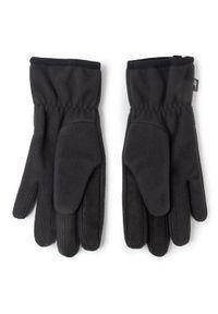 Czarne rękawiczki sportowe columbia narciarskie
