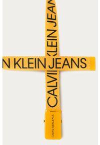 Żółty pasek Calvin Klein Jeans