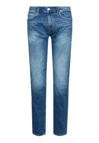 Guess Jeansy Angels M1RAN2 D4B71 Niebieski Skinny Fit. Kolor: niebieski