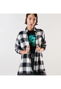 Sinsay - Koszula w kratę - Wielobarwny