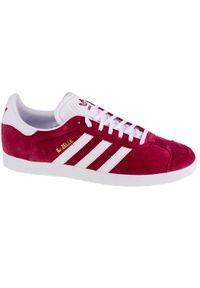Czerwone sneakersy Adidas Adidas Gazelle, z cholewką