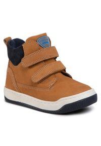Lasocki Kids - Trzewiki LASOCKI KIDS - CI12-SPRITE-01 Camel. Kolor: brązowy. Materiał: skóra, nubuk, zamsz. Szerokość cholewki: normalna. Sezon: zima, jesień