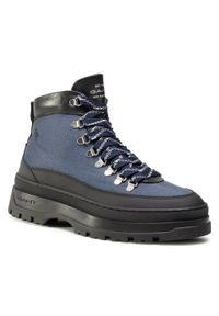 Niebieskie buty zimowe GANT klasyczne, z cholewką