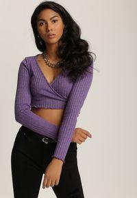 Renee - Czarne Spodnie Skinny Thesosise. Kolor: czarny