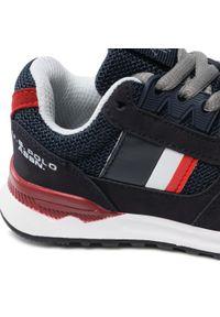 U.S. Polo Assn - Sneakersy U.S. POLO ASSN. - Joe JOE4097S1/HM1 Navy. Okazja: na co dzień. Kolor: niebieski. Materiał: skóra ekologiczna, materiał. Szerokość cholewki: normalna. Styl: casual #4