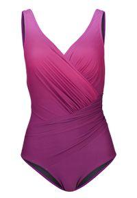 Różowy strój kąpielowy bonprix z aplikacjami