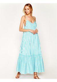 Niebieska sukienka letnia Liu Jo
