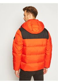 Pomarańczowa kurtka puchowa Lee