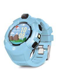 Niebieski zegarek FOREVER smartwatch