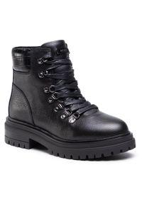 Czarne buty trekkingowe MEXX