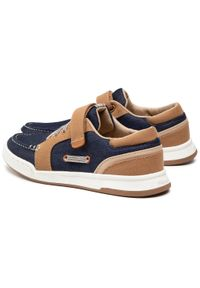 Mayoral - Sneakersy MAYORAL - 45.295 Camel 15. Okazja: na spacer. Zapięcie: rzepy. Kolor: niebieski. Materiał: materiał. Szerokość cholewki: normalna
