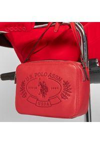 U.S. Polo Assn - Torebka U.S. POLO ASSN. - New Hailey Crossbody BEUHF5161WVP400 Red. Kolor: czerwony. Materiał: skórzane