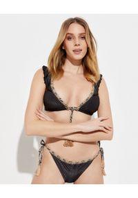 DEL MAAR - Top od bikini Yana. Kolor: czarny. Materiał: materiał, tkanina