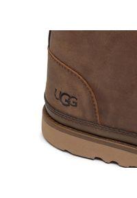 Brązowe buty zimowe Ugg z cholewką