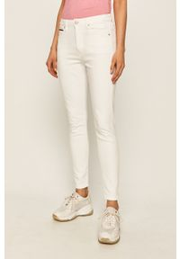 Białe jeansy Tommy Jeans