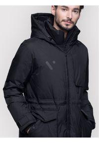 Czarna kurtka puchowa #5