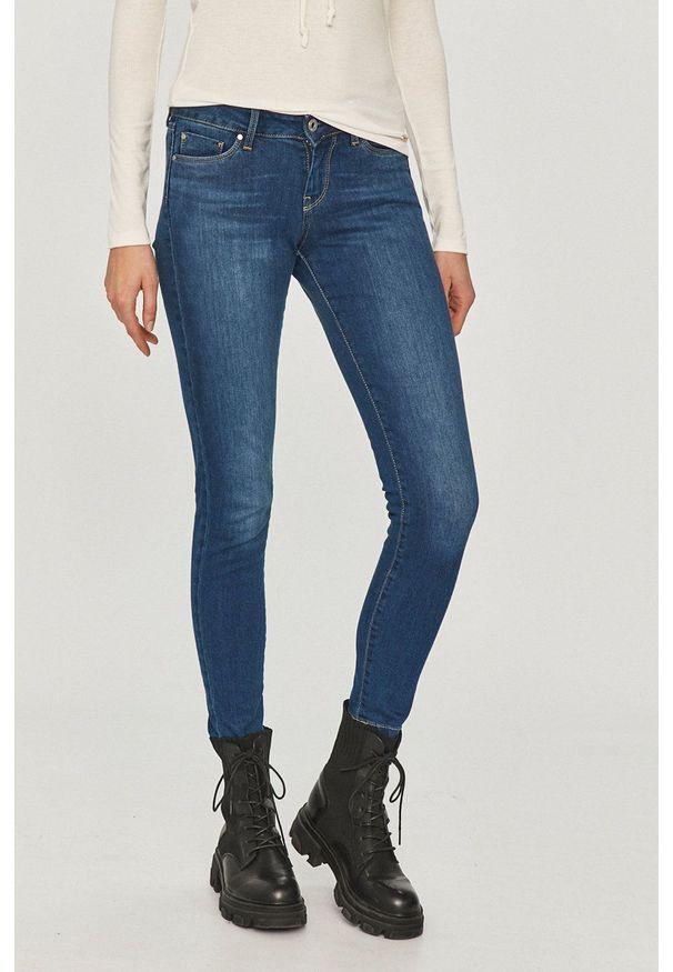 Pepe Jeans - Jeansy Soho. Kolor: niebieski