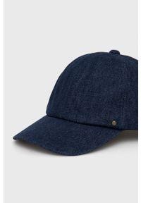Sisley - Czapka. Kolor: niebieski